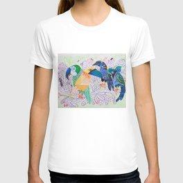 Squawkward Silence T-shirt
