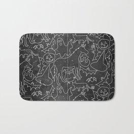 Halloween Spook Unicorn V02 Bath Mat
