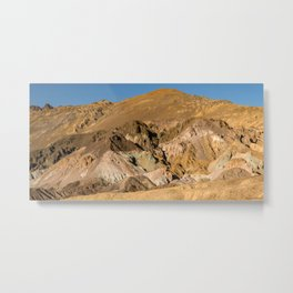 Artist's Palette Pano - Death Valley, California Metal Print