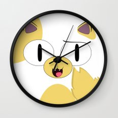 CAKE THE CAT Wall Clock
