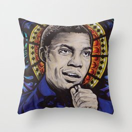 Desmond Dekker Throw Pillow