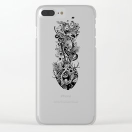 Blinking Clear iPhone Case