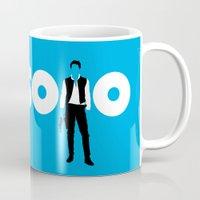 han solo Mugs featuring Han Solo by Vector Vectoria