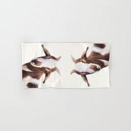 Goat Portrait Hand & Bath Towel