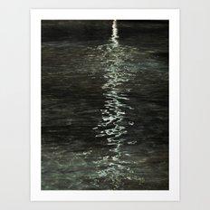 Aqua de la vida Art Print