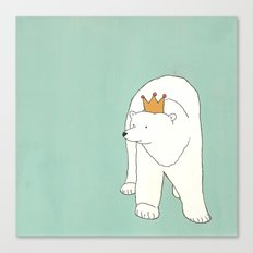 King of the Bears Canvas Print
