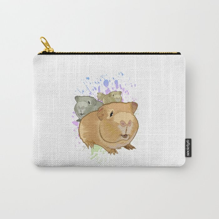 Guinea Pigs Carry-All Pouch