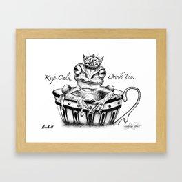 BECKETT Frog Prince Print Framed Art Print