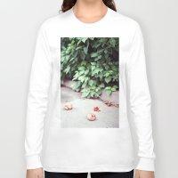 fruits Long Sleeve T-shirts featuring Fruits by deerproblem