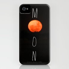 M O O N iPhone (4, 4s) Slim Case