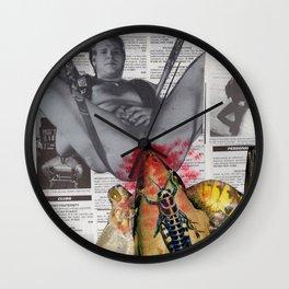 Nativity of Beelzebub Wall Clock