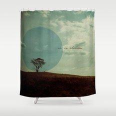 No Me Olvides Shower Curtain