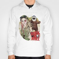 rock n roll Hoodies featuring ROCK N ROLL by ●•VINCE•●