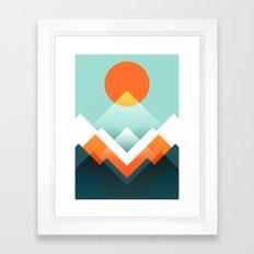 Everest Framed Art Print