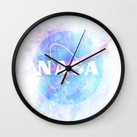 nasa Wall Clocks featuring NASA by avoid peril