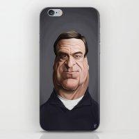 john snow iPhone & iPod Skins featuring Celebrity Sunday ~ John Goodman by rob art | illustration
