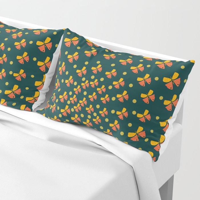 Butterflies in spiral Pillow Sham
