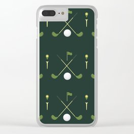TGIF: Thank Golf It's Friday Clear iPhone Case