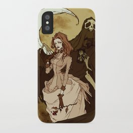Death and the Maiden iPhone Case