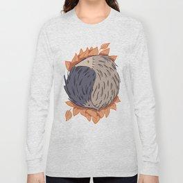 Hedgehog Yin Yang Long Sleeve T-shirt