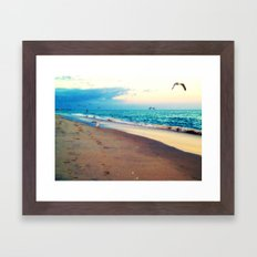 Lotsa More Gulls Framed Art Print