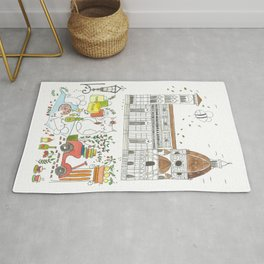 Picnic in Florence  Rug
