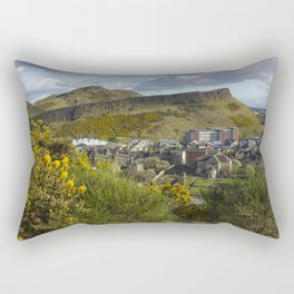 Arthur's Seat and Salisbury Crags, Edinburgh Rectangular Pillow