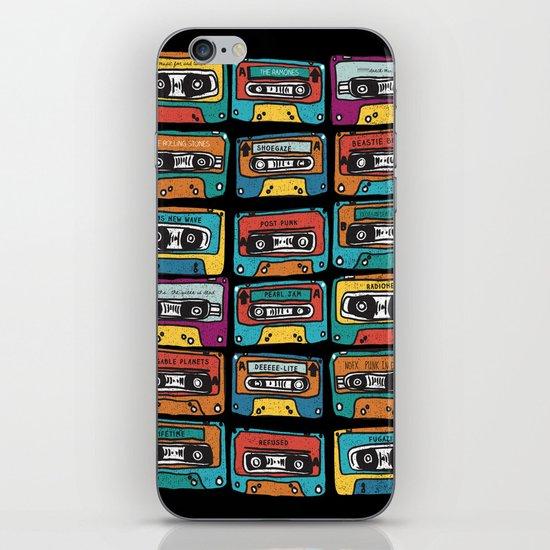 MIXTAPE - ANALOG zine iPhone & iPod Skin