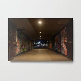 Graffiti Passage Metal Print