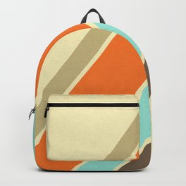 Retro Stripes Backpack