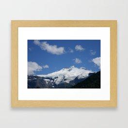 Cerro Tronador Framed Art Print