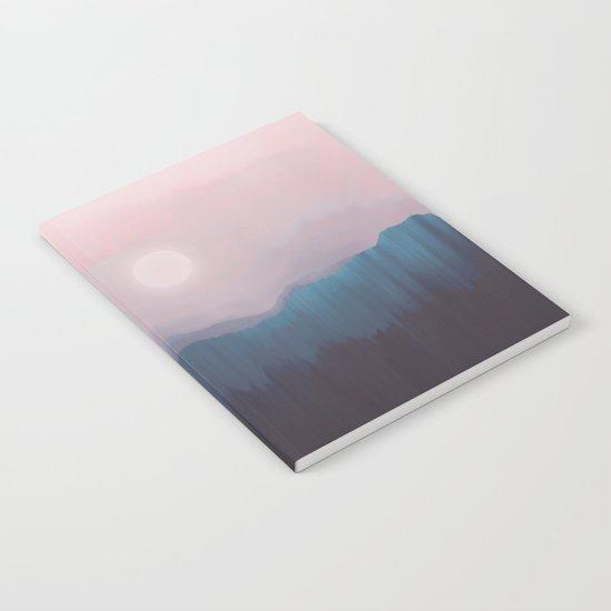 Pink Fog Notebook