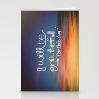 grateful dead Stationery Cards featuring grateful by Brittney Borowski