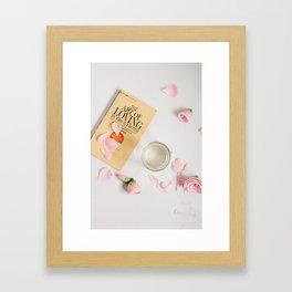 the art of loving Framed Art Print