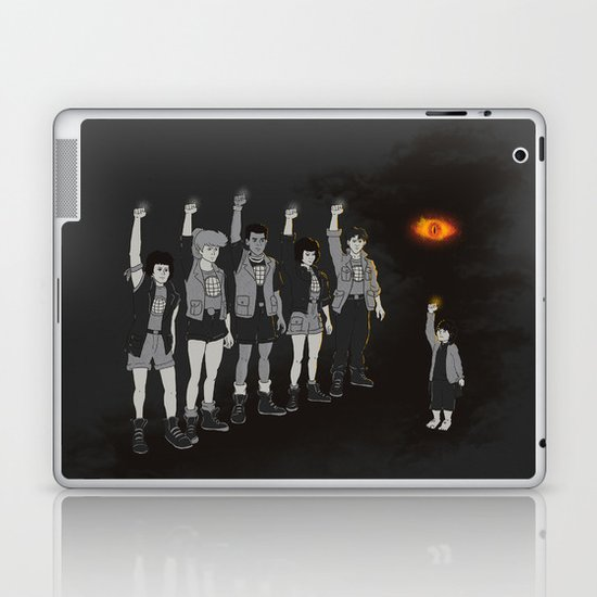 One ring ruins the group Laptop & iPad Skin