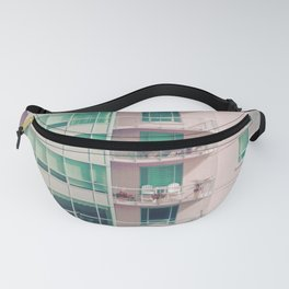 Pastel Urban Architecture Fanny Pack