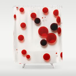 29 Red Shower Curtain