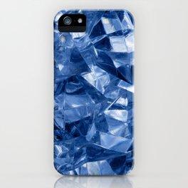 Crushed ice background iPhone Case