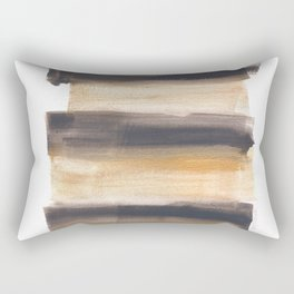 [161216] 13. Drenched|Watercolor Brush Stroke Rectangular Pillow