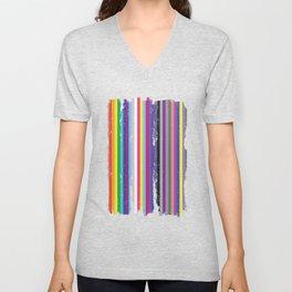 LGBTQ2 Pride Unisex V-Neck