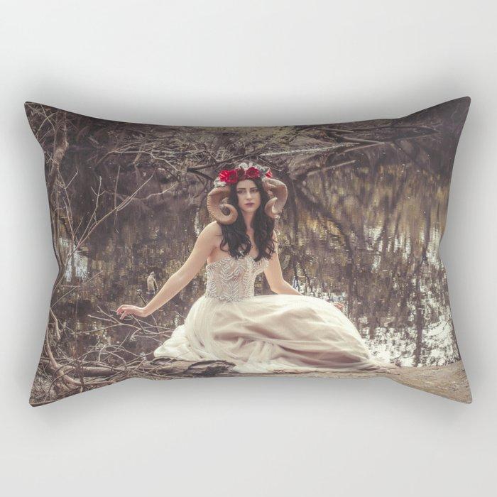 Woodland Fairy 19 Rectangular Pillow