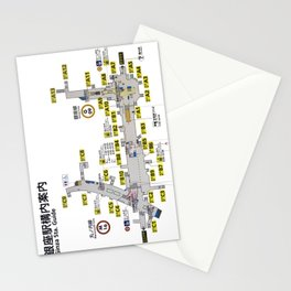 Tokyo 3534 Stationery Cards