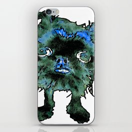 Lugga The Friendly Hairball Monster For Boos iPhone Skin