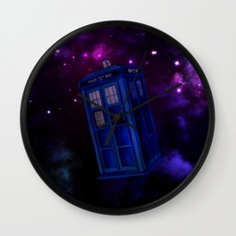 Tardis 004 Wall Clock