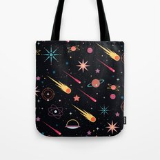 Fly Through Space Tote Bag