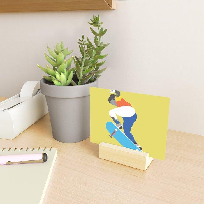 Skateboard No.1 Mini Art Print