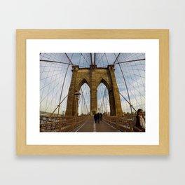 Gateway to Brooklyn Framed Art Print