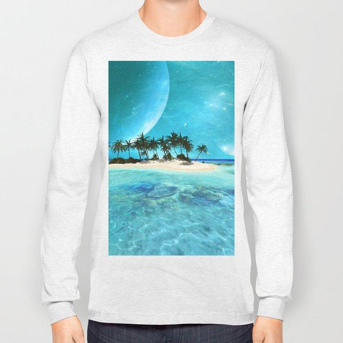 Wonderful tropical island Long Sleeve T-shirt