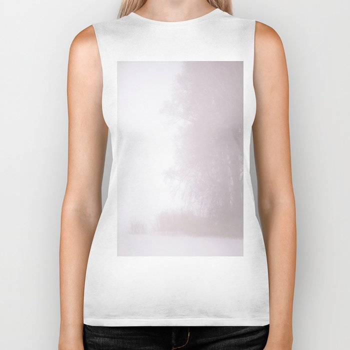 Misty Atmosphere Biker Tank