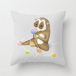 Loris Throw Pillow